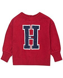 Tommy Hilfiger Baby Girls Big H Sweater