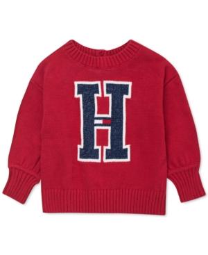 Tommy Hilfiger Baby Girls Big H Sweater