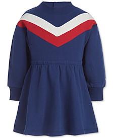 Baby Girls Chevron Sweatshirt Dress & Panty