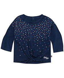 Tommy Hilfiger Baby Girls Glitter Dot T-Shirt