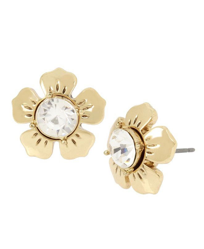 MIRIAM HASKELL Daisy Stud Earrings