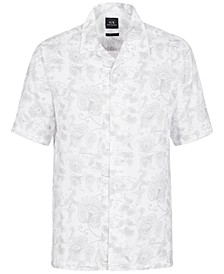 Cotton Printed Short-Sleeve Shirt
