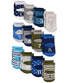 Baby Boys 12-Pk. Milestone Socks