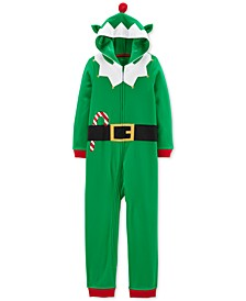Little & Big Boys Hooded Elf Pajamas