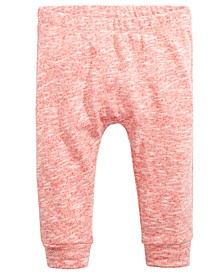 Baby Girls & Boys Star-Back Jogger Pants, Created For Macy's