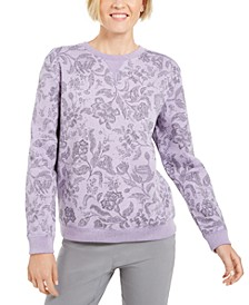 Sport Twilight Printed Sweatshirt, Created for Macy's