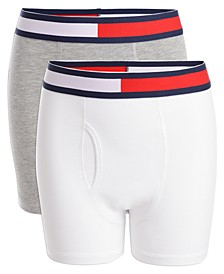 Little & Big Boys 2-Pk. Solid Boxer Briefs
