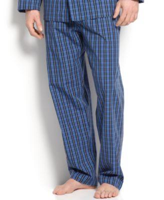 Men's Harwich Plaid Pajama Pants