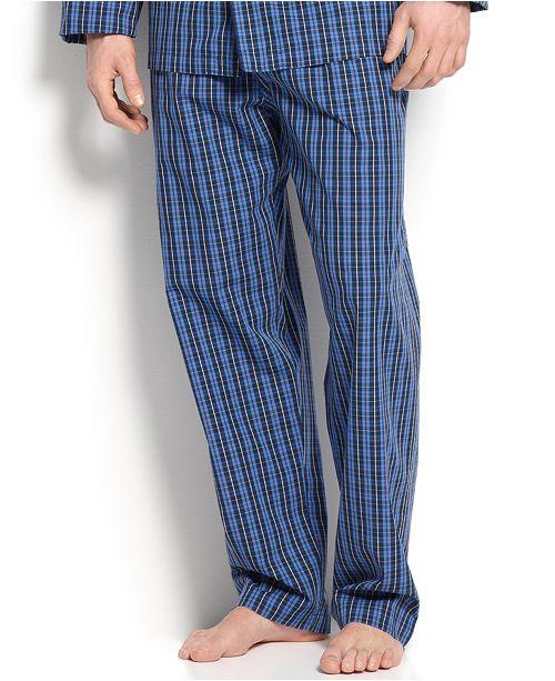 Polo Ralph Lauren Men's Harwich Plaid Pajama Pants