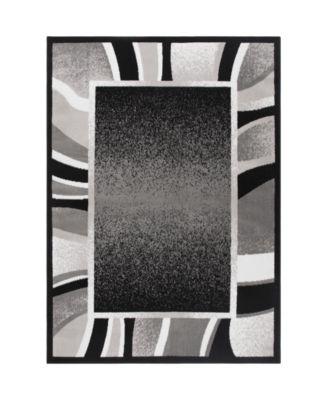 Global Rug Design Loma LOM03 Black 7'8