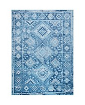 Blue All Area Rugs Macy S