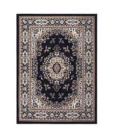 "Global Rug Design Choice CHO13 Dark Blue 9'2"" x 12'5"" Area Rug"