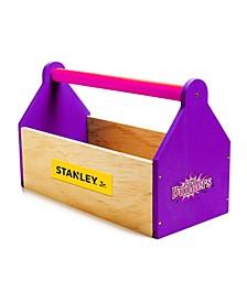 Wooden Craft Tool Box Set