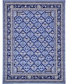 Aldrose Ald2 Blue Area Rug Collection