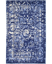 Aldrose Ald3 Blue Area Rug Collection