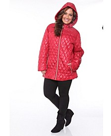 Plus Women's Puffer Coat