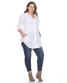 Plus Size Lakota Stretchy Tunic