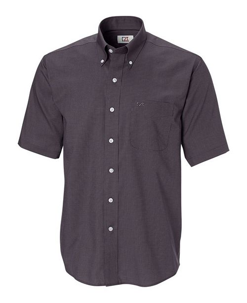 Cutter & Buck Men's Short Sleeve Nailshead