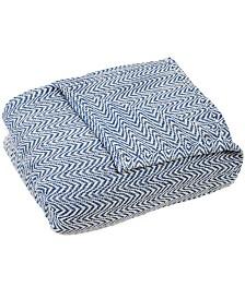 Baldwin Home Chevron Twin Luxury Soft Blanket