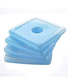 Cool Coolers Reusable Ice Packs, Set of 4