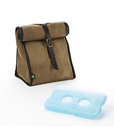 Fit & Fresh Classic Roll-Top Insulated Lunch Bag