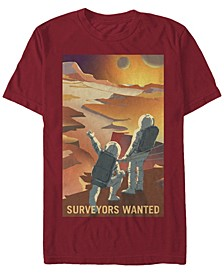 Men's Mars Surveyors Wanted Short Sleeve T-Shirt