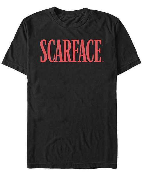 Scarface Men's Red Logo Short Sleeve T-Shirt