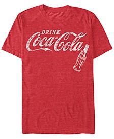 Men's Retro Coke Bottle Short Sleeve T-Shirt