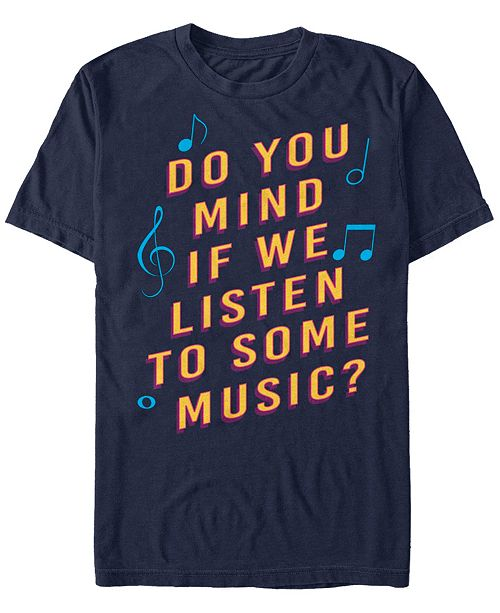 The Late Late Show James Corden Men's Listen To Some Music Short Sleeve T-Shirt