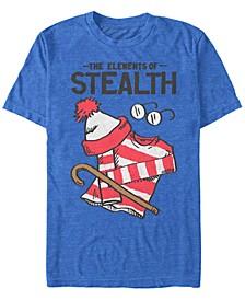 Men's Elements Of Stealth Short Sleeve T-Shirt