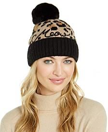 Meow Faux-Fur Beanie