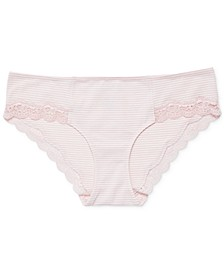 Maternity Lace-Trim Hipster Briefs