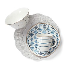 Blue Bay Dinnerware Collection