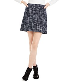 Plaid A-Line Mini Skirt, Created For Macy's