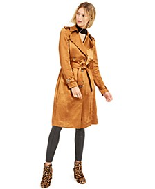 INC Metallic Trench Coat, Created for Macy's