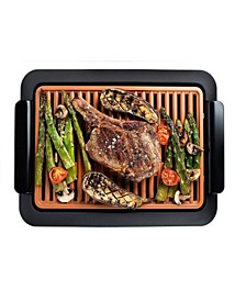 Non-Stick Ti-Ceramic Smokeless Indoor Grill