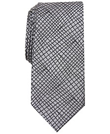 Men's Slim Abstract Tie, Created For Macy's