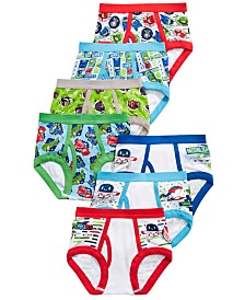 PJ Masks 7-Pk. Cotton Brief Underwear, Toddler Boys (2T-5T)