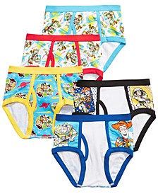 Little & Big Boys 5-Pk. Toy Story Cotton Briefs