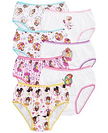 Little & Big Girls 7-Pk. Cotton Underwear