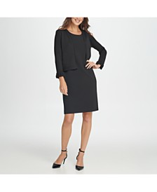DKNY Bell Sleeve Shrug