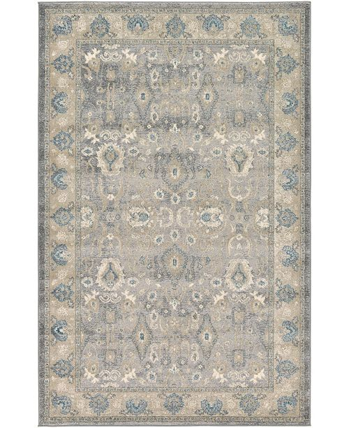 Bridgeport Home Bellmere Bel6 Gray Area Rug Collection