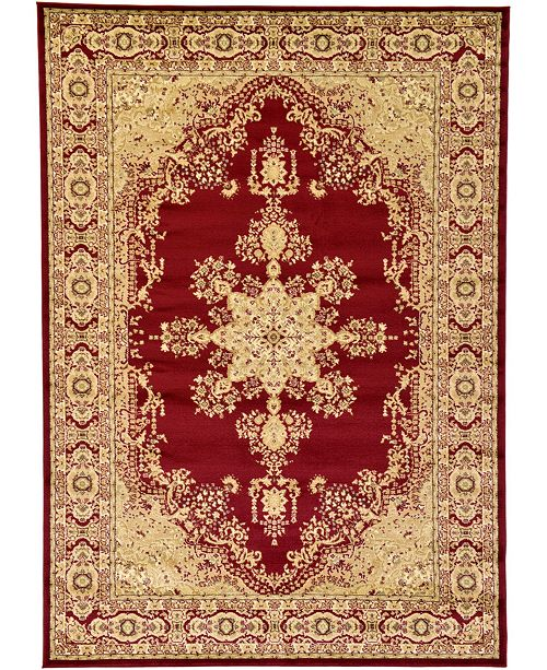 Bridgeport Home Belvoir Blv1 Red Area Rug Collection