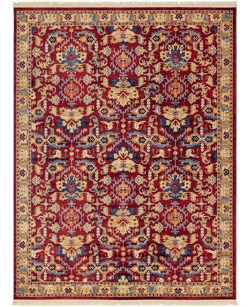 Bridgeport Home Borough Bor1 Red Area Rug Collection