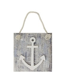Northlight Cape Cod Inspired Anchor Wall Hanging Plaque