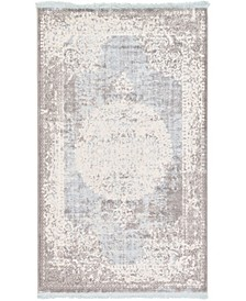 Norston Nor4 Light Blue Area Rug Collection