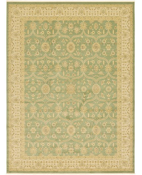 Bridgeport Home Orwyn Orw6 Light Green Area Rug Collection