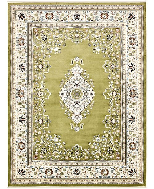 Bridgeport Home Zara Zar1 Green Area Rug Collection