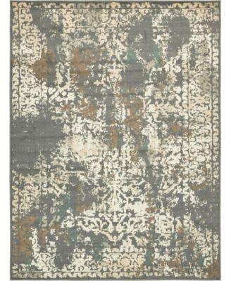 Tabert Tab1 Gray 8' x 10' Area Rug