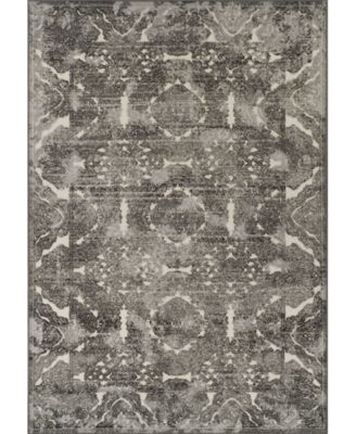 CLOSEOUT! Logan Lo4 Pewter 5'3 X 7'7 Area Rugs